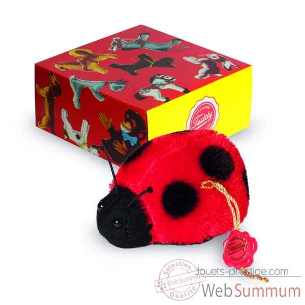 Peluche de collection coccinelle 5 cm hermann -17050 1
