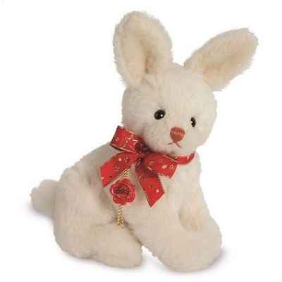 Peluche de collection lapin des neige 23 cm alpaga edition limitee Hermann -15643 7