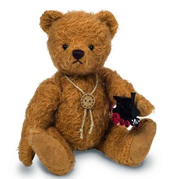 Peluche de collection ours teddy bear august 20 cm ed. limitee Hermann -16819 5