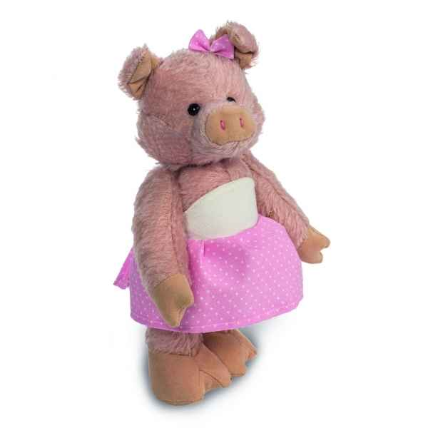 Peluche de collection schweinchen rosa 22 cm edition limitee Hermann -15660 4