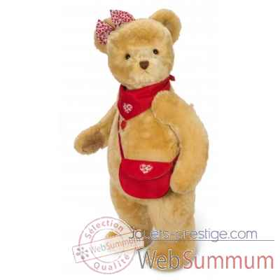 Peluche de collection ourse veronika 100 cm ed. limitee Hermann -17414 1
