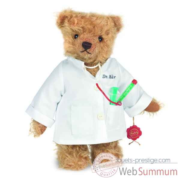 Peluche docteur ours 28 cm collection ed. limitee 300 ex. teddy hermann -14631 5