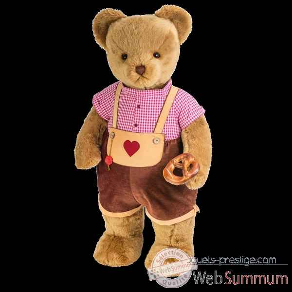 Peluche Grand ours teddy bear debout konrad 100 cm hermann teddy original -17418 9