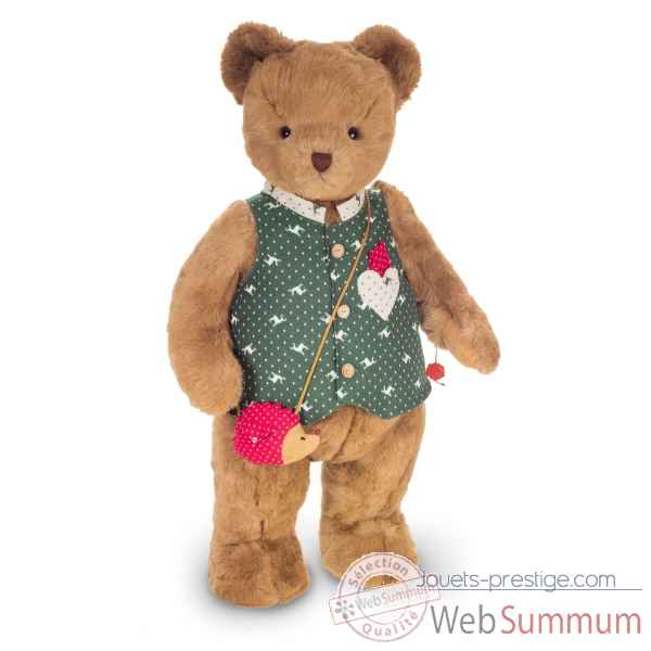 Peluche Grand ours teddy bear nepomuk 100 cm hermann teddy original -17417 2