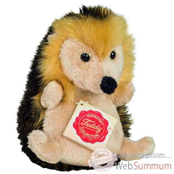 Peluche herisson assis 14 cm Hermann -92119 6