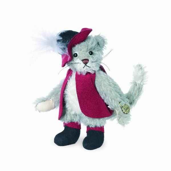 Peluche miniature chat botte 9 cm collection ed. limitee hermann -15188 3