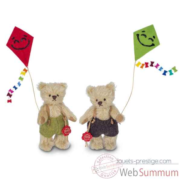 Peluche miniature original hermann teddy ours mabel 13 cm -11735 3