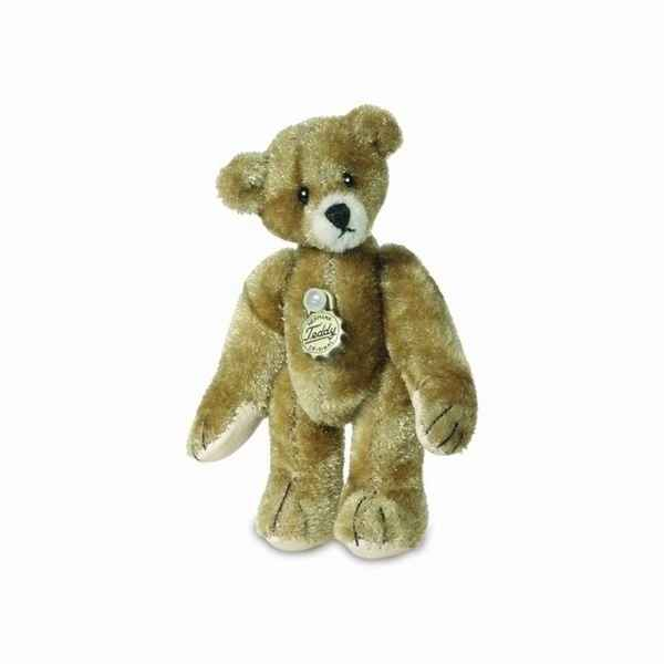 Peluche miniature ours teddy dore 6 cm collection teddy original hermann -15770 0