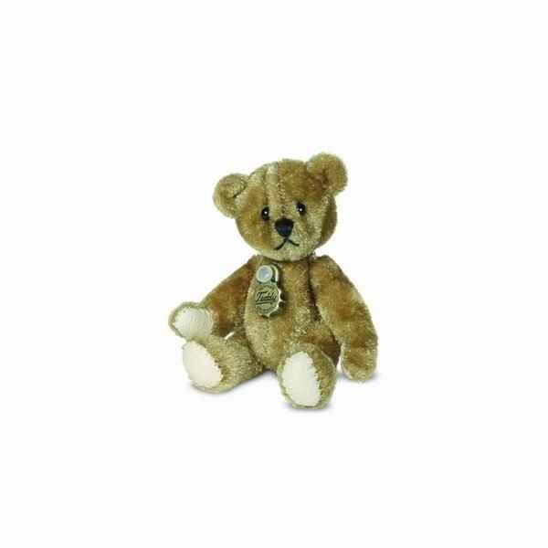 Peluche miniature ours teddy dore 5,5 cm collection teddy original hermann -15772 4