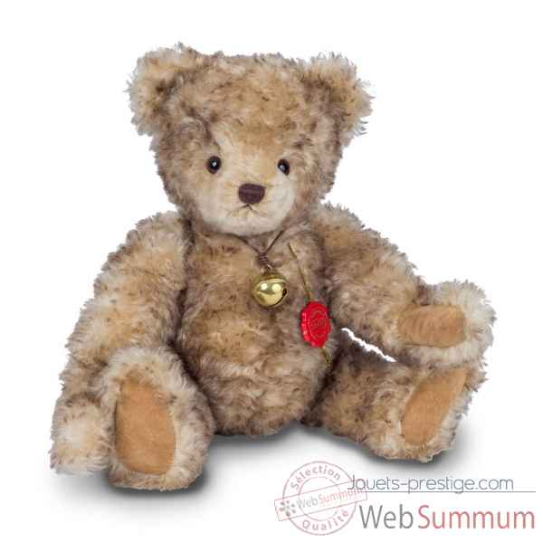 Peluche original hermann teddy teddy bear gerhard 45 cm avec growler -14653 7