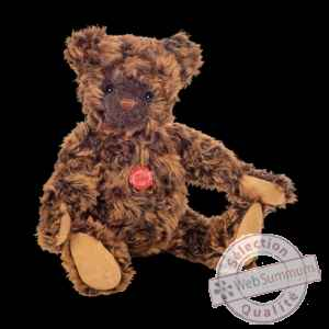 Peluche original hermann teddy ours hubert 54 cm avec bruiteur collector 100ex-16450 0