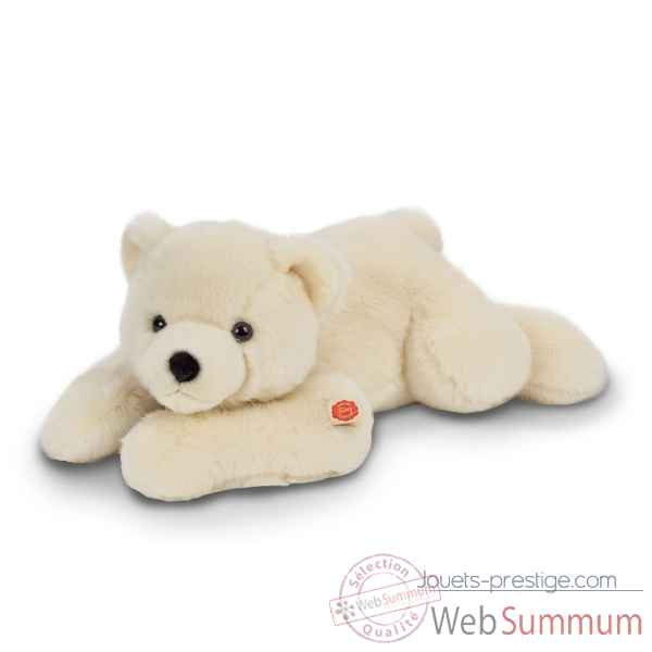 Peluche ours polaire couche a 65 cm hermann teddy -91565 2