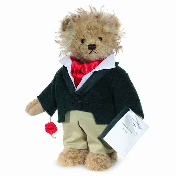 Peluche ours teddy bear beethoven 32 cm collection ed.limitée 400 ex. hermann -15519 5