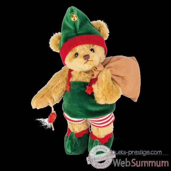 Peluche Ours teddy bear coupe de noel 26 cm hermann teddy original -14827 2
