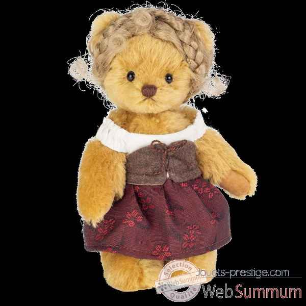 Peluche Ours teddy bear kunigunde 19 cm hermann teddy original -11742 1