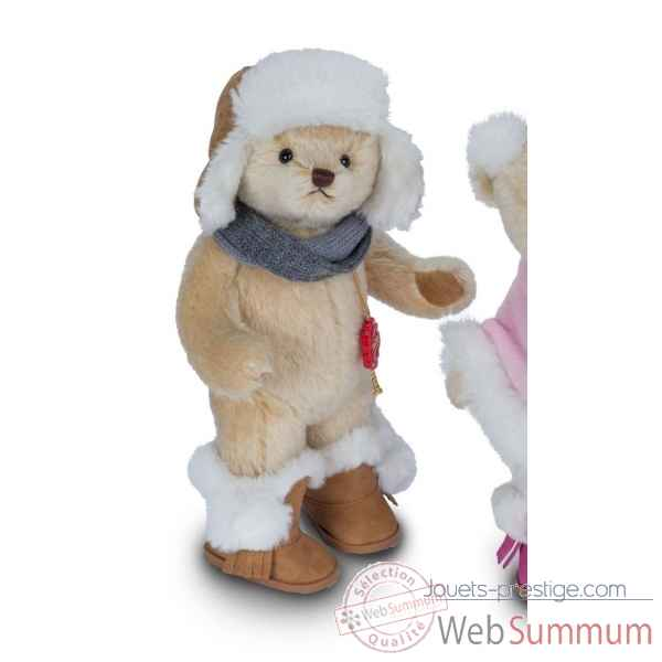 Peluche Ours teddy bear tibor 27 cm hermann teddy original -12700 0