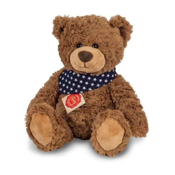 Peluche Ours teddy brun 30 cm hermann teddy collection -91362 7