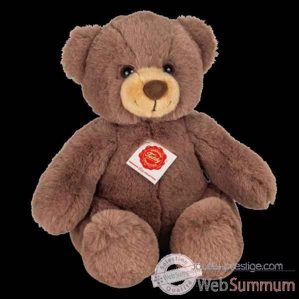 Peluche Ours teddy chocolat brun 30 cm hermann teddy collection -91368 9
