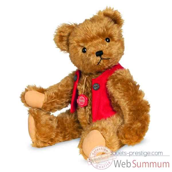 Peluche ours teddy fred 40 cm Hermann -16441 8