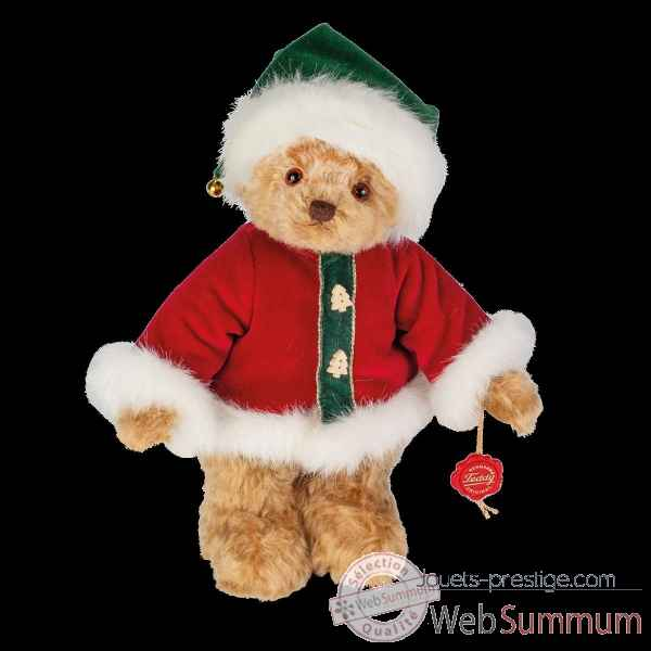 Peluche Teddy bear ours de noel 2019 30 cm hermann teddy original -14873 9