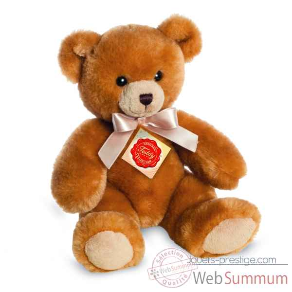 Peluche teddy or 22 cm Hermann -91313 9