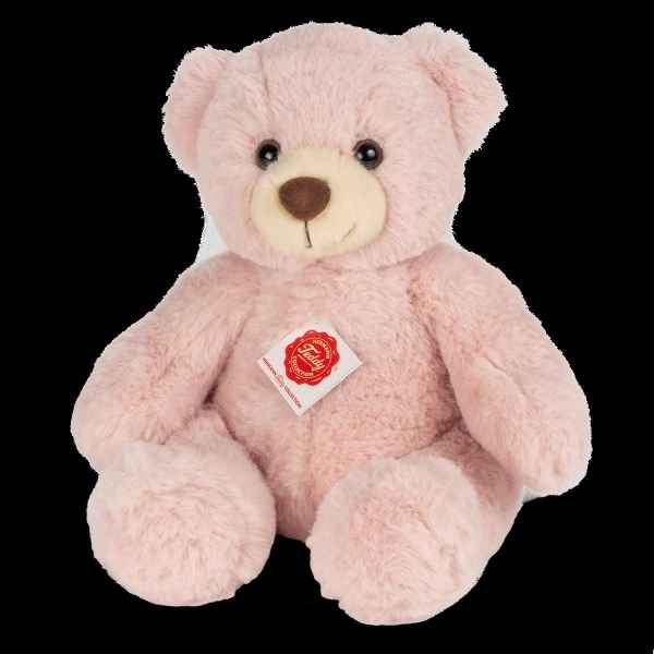 Peluche Teddy ours teddy rose 30 cm hermann teddy collection -91367 2