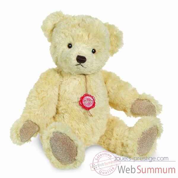 Peluche teddy ourse vanilla 35 cm collection ed. limitee 200 ex. hermann -12325 5