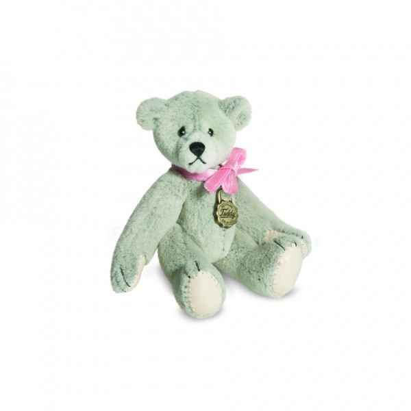Peluche ours mini teddy gris Hermann -15732 8