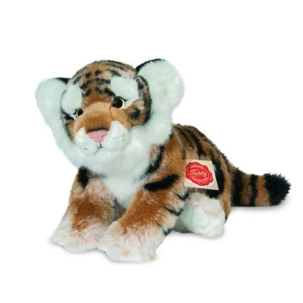 Tigre marron 23 cm hermann -90414 4