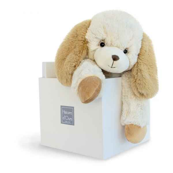 Peluche softy - chien ecru mm histoire d'ours -2722