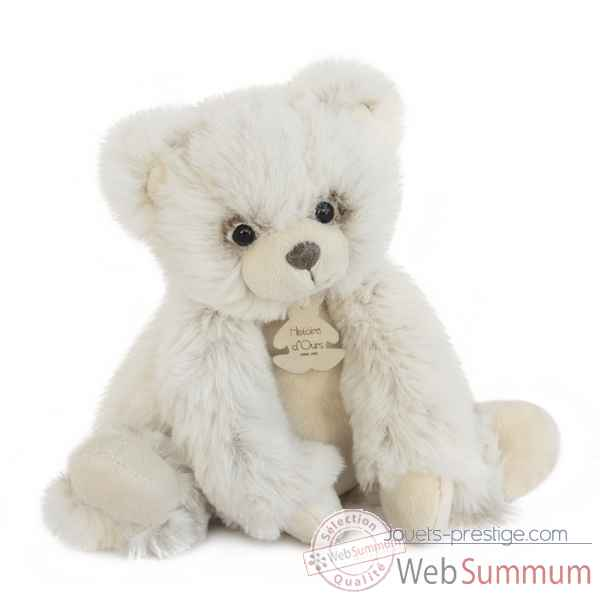 Peluche softy - ours ecru pm histoire d'ours -2715