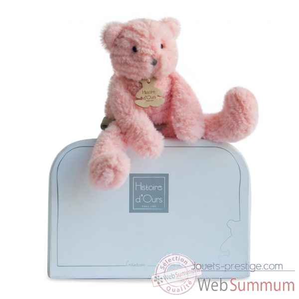 Peluche sweety couture - chat rose pm histoire d'ours -2646