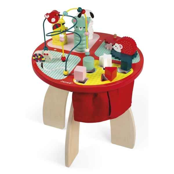 Table d'activites - baby forest janod -j08018