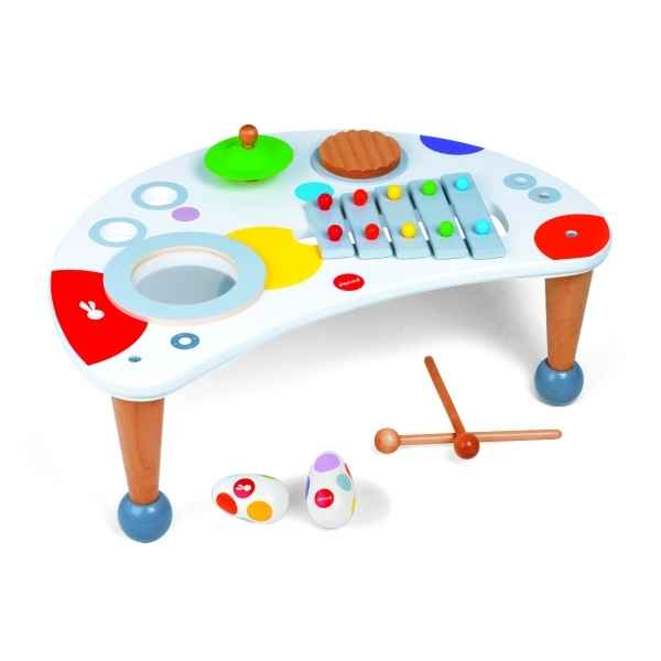 Table musicale confetti Janod J07595