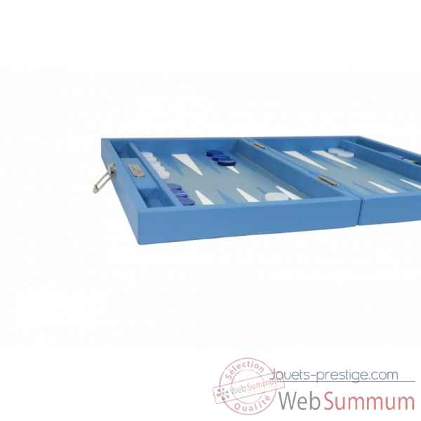 Backgammon baptiste cuir buffle medium limoges -B52L-l -7