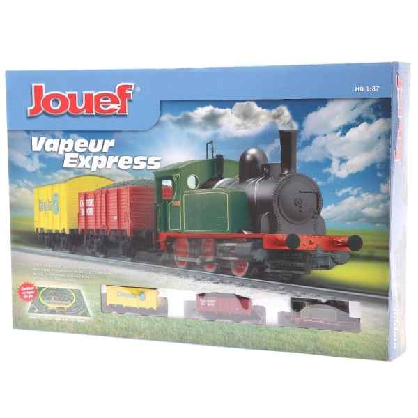 coffret train lectrique jouef vapeur express jouef dans. Black Bedroom Furniture Sets. Home Design Ideas