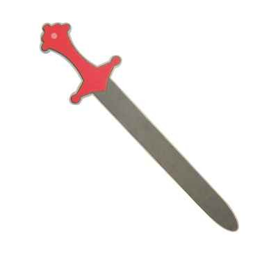 Epee rouge en mousse Excalibur -12480