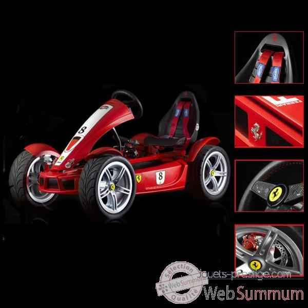 Video Kart a pedales Berg Toys Ferrari FXX Exclusive-03905700