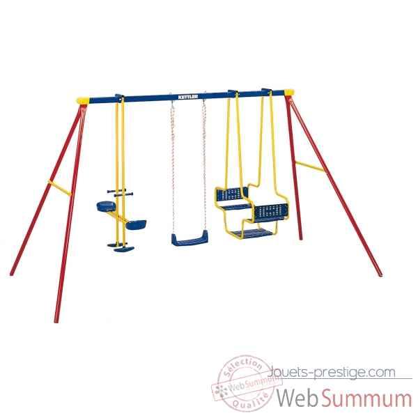 portique toboggan tourniquet dans jouet plein air sur jouets prestige. Black Bedroom Furniture Sets. Home Design Ideas