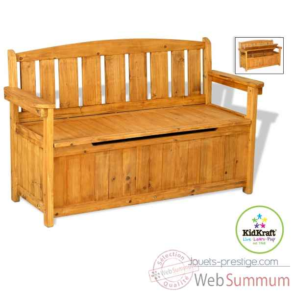 banc de rangement de jardin kidkraft 13 dans cuisine enfant kidkraft. Black Bedroom Furniture Sets. Home Design Ideas