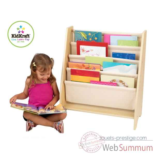 Bibliotheque a compartiments naturel KidKraft -14221