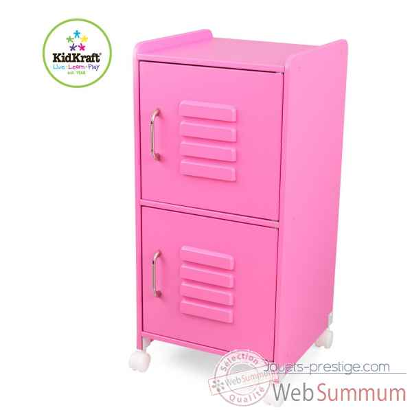 casier de taille moyenne rose bonbon kidkraft 14326 dans cuisine enfant kidkraft. Black Bedroom Furniture Sets. Home Design Ideas