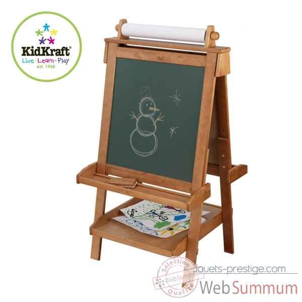 chevalet r glable en bois kidkraft dans cuisine enfant kidkraft sur jouets prestige. Black Bedroom Furniture Sets. Home Design Ideas