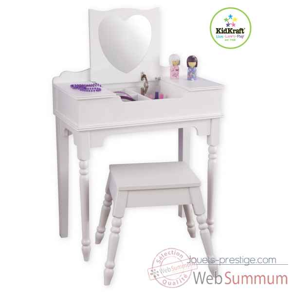 coiffeuse enfant jeux et jouets sur enperdresonlapin. Black Bedroom Furniture Sets. Home Design Ideas
