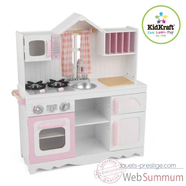 cuisine enfant kidkraft sur jouets prestige. Black Bedroom Furniture Sets. Home Design Ideas