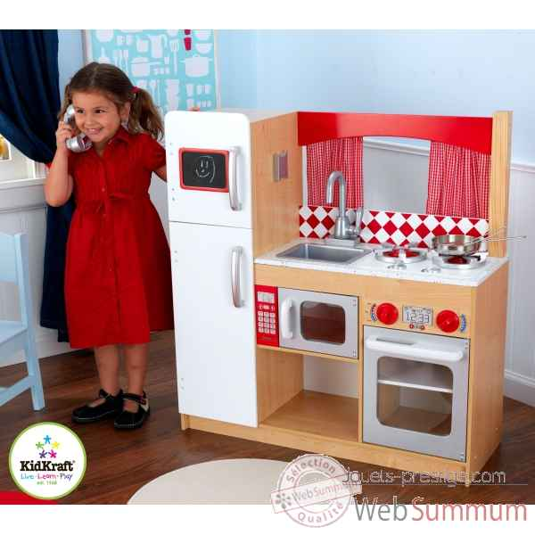 cuisine suite elite kidkraft 53216 dans cuisine enfant kidkraft sur jouets prestige. Black Bedroom Furniture Sets. Home Design Ideas