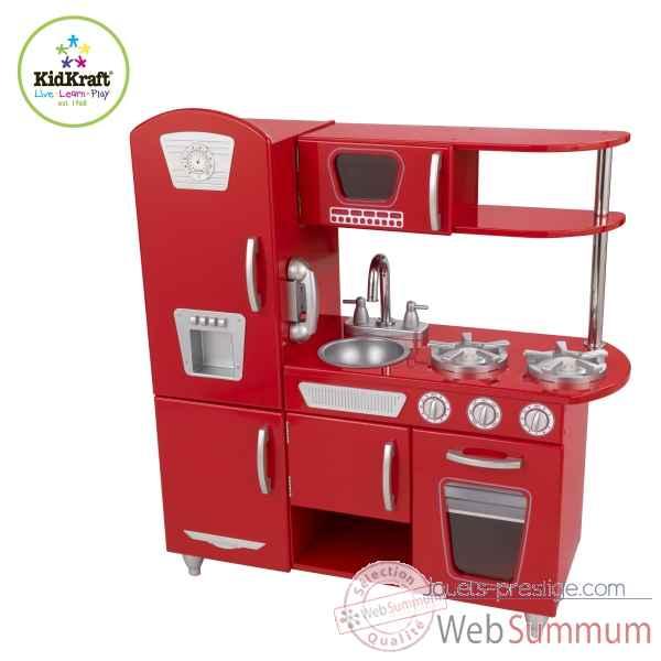 Achat de cuisine sur jouets prestige for Cuisine retro rouge