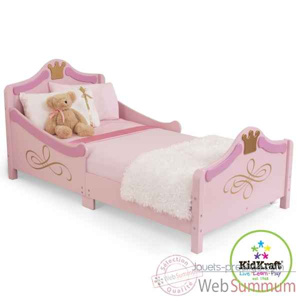 lit princesse rose 70 x 140 cm kidkraft 76139 dans cuisine enfant kidkraft. Black Bedroom Furniture Sets. Home Design Ideas