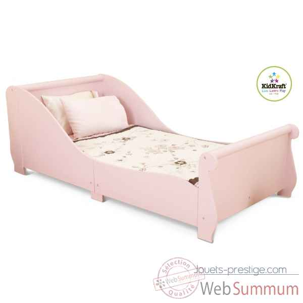 Lit traineau rose KidKraft -86735