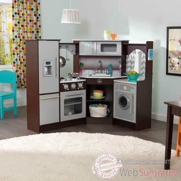 coin cuisine grand gourmet kidkraft dans cuisine enfant kidkraft sur jouets prestige. Black Bedroom Furniture Sets. Home Design Ideas